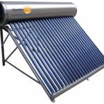 Calentador de agua solar home center